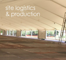 Site Logistics & Production